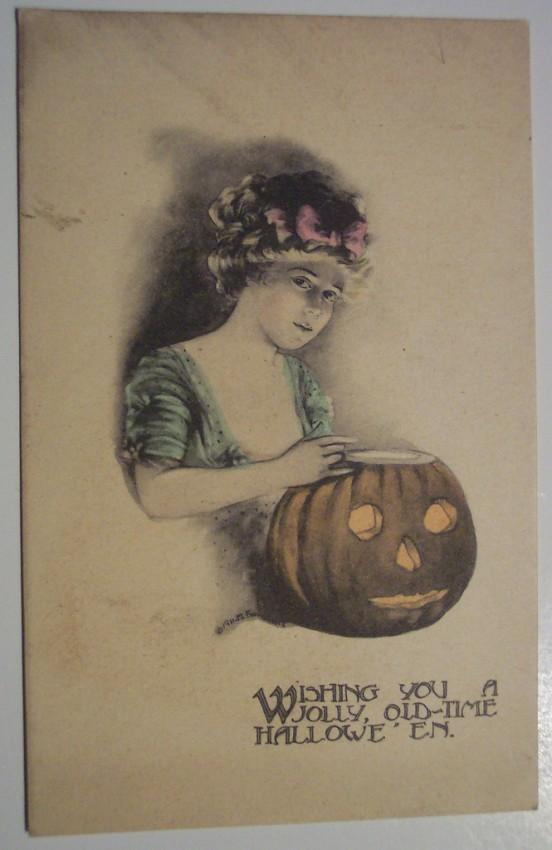 Postales Halloween retro 036