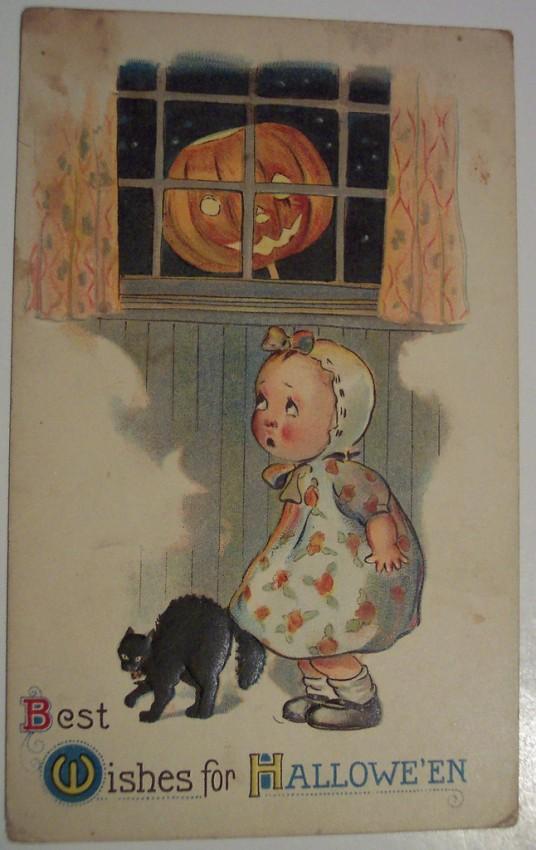 Postales Halloween retro 040