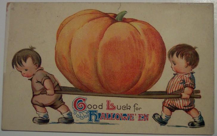 Postales Halloween retro 041