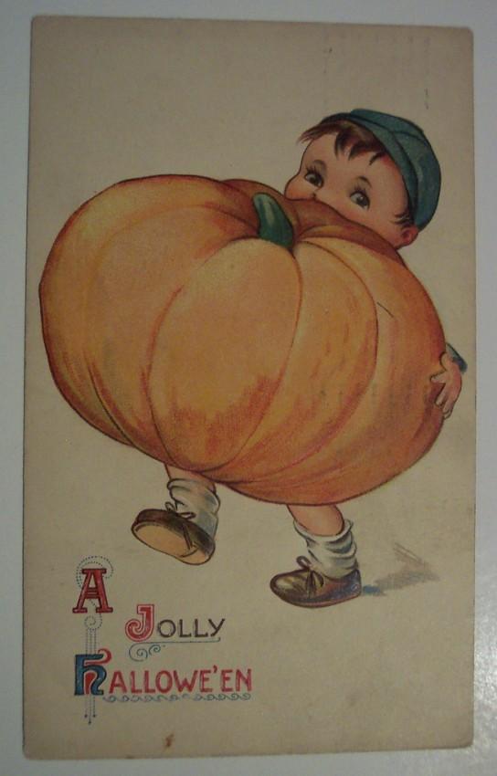 Postales Halloween retro 042