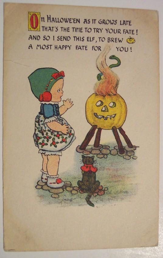 Postales Halloween retro 048