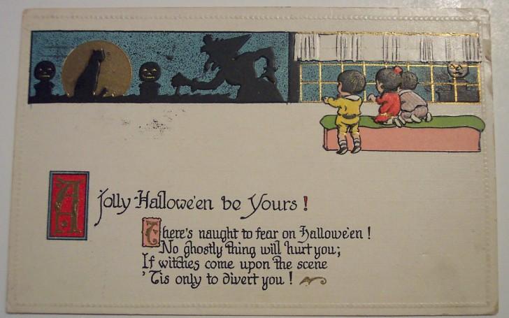 Postales Halloween retro 049