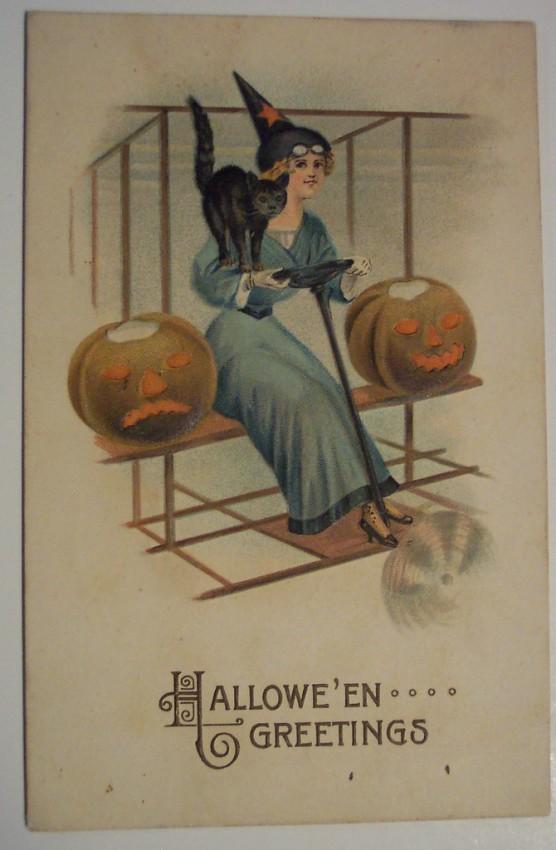 Postales Halloween retro 050