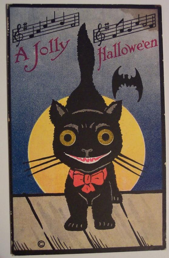 Postales Halloween retro 051