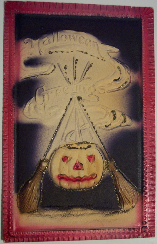 Postales Halloween retro 052