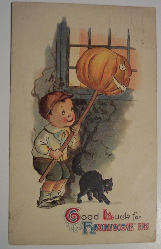 Postales Halloween retro 053