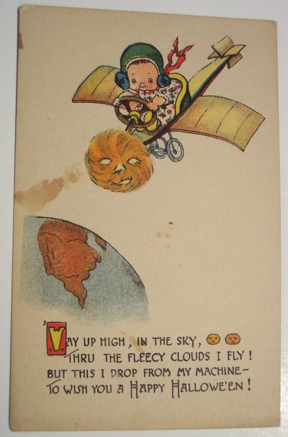 Postales Halloween retro 057