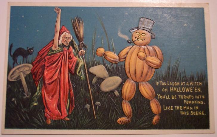 Postales Halloween retro 065