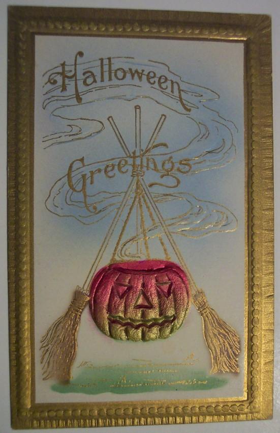 Postales Halloween retro 066