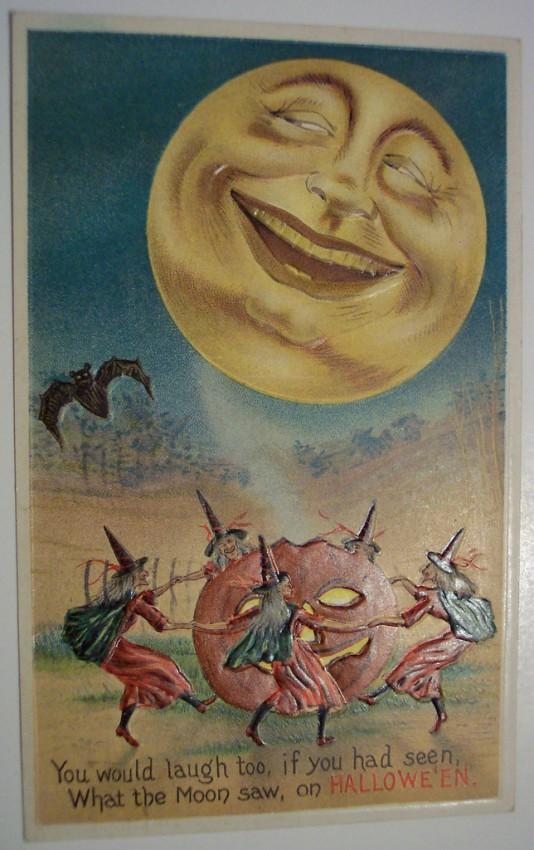 Postales Halloween retro 069