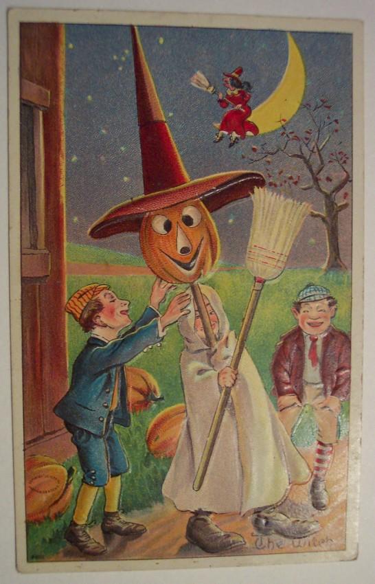 Postales Halloween retro 072