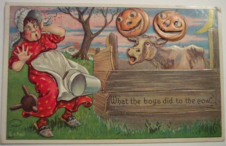 Postales Halloween retro 073