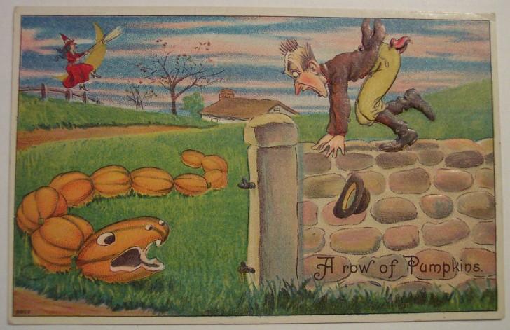 Postales Halloween retro 075