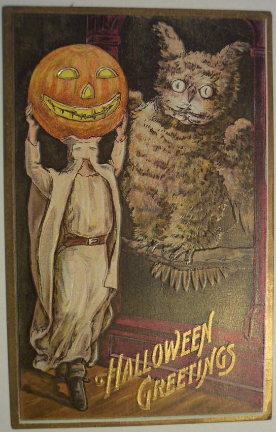 Postales Halloween retro 078