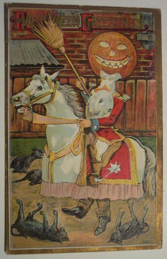 Postales Halloween retro 079