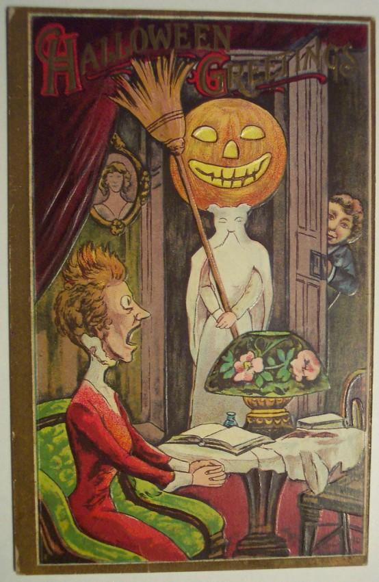 Postales Halloween retro 083