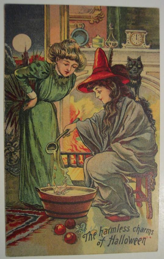 Postales Halloween retro 087
