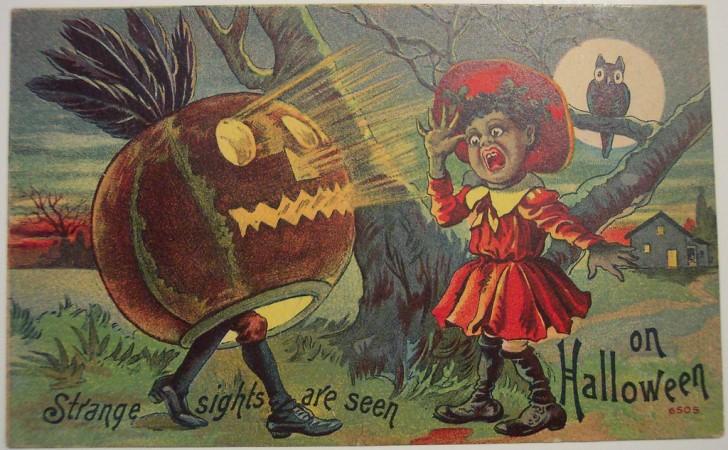 Postales Halloween retro 088
