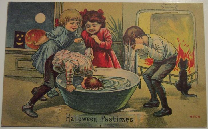 Postales Halloween retro 089