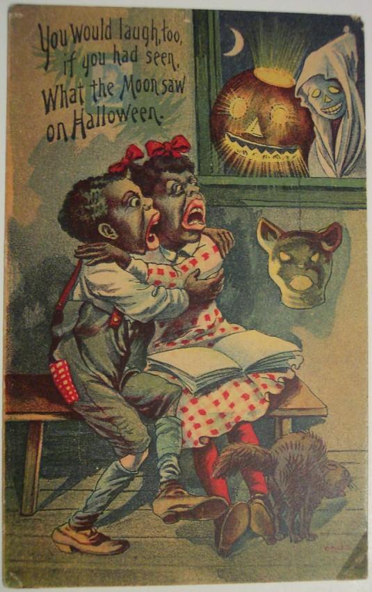 Postales Halloween retro 091