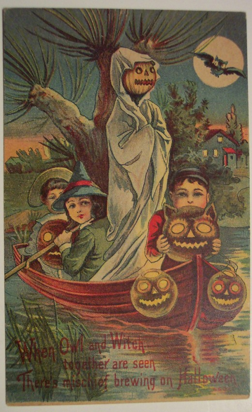 Postales Halloween retro 092