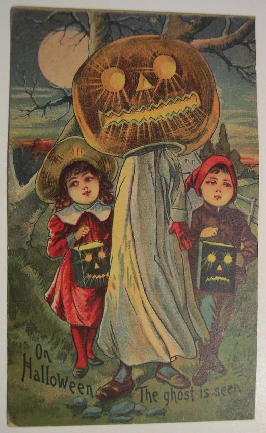 Postales Halloween retro 093