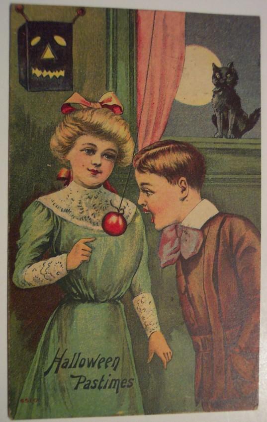 Postales Halloween retro 094