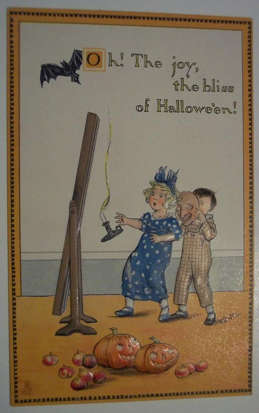 Postales Halloween retro 096