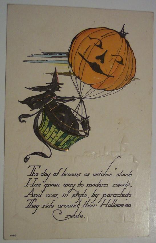Postales Halloween retro 097