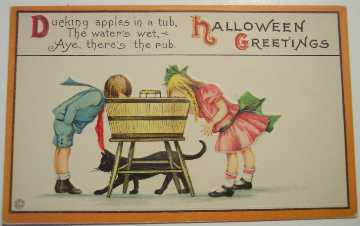 Postales Halloween retro 099