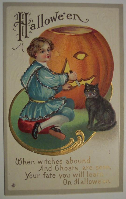 Postales Halloween retro 100