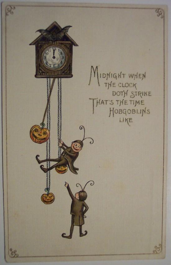 Postales Halloween retro 101