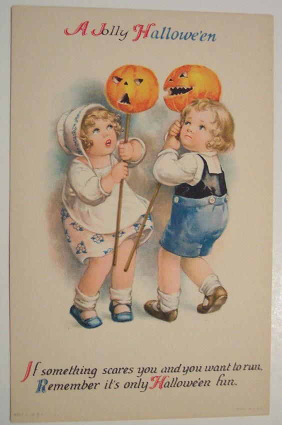 Postales Halloween retro 102
