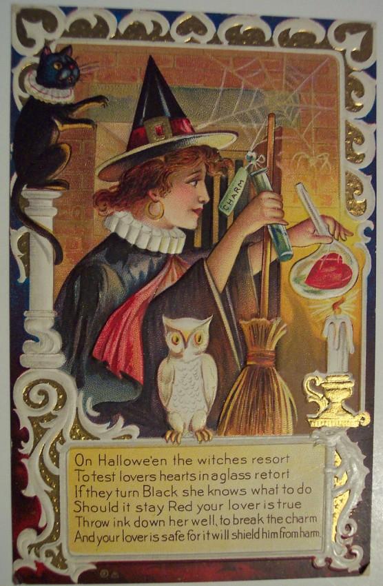 Postales Halloween retro 103