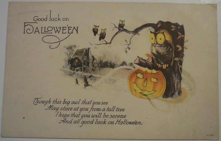 Postales Halloween retro 104