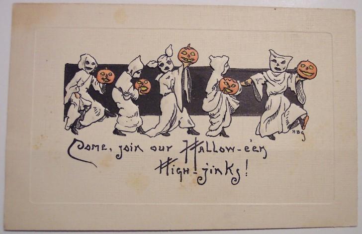 Postales Halloween retro 105