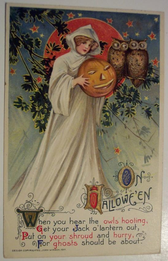 Postales Halloween retro 108