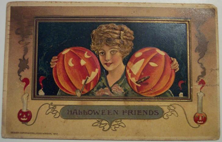 Postales Halloween retro 109