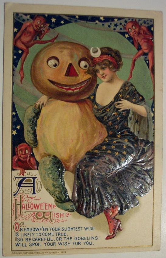 Postales Halloween retro 111