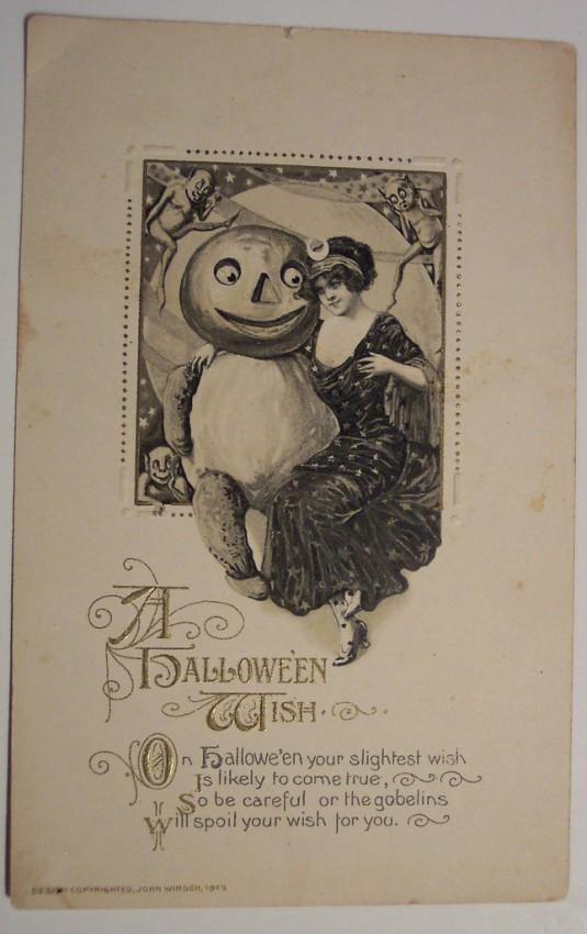 Postales Halloween retro 116