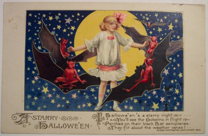 Postales Halloween retro 117