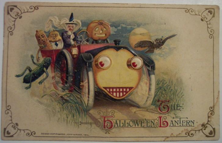 Postales Halloween retro 118