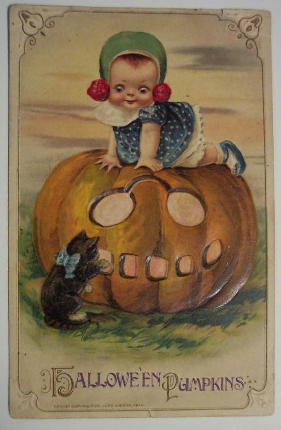 Postales Halloween retro 119