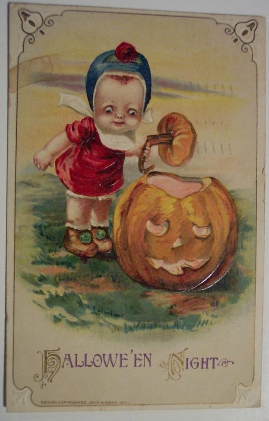 Postales Halloween retro 120