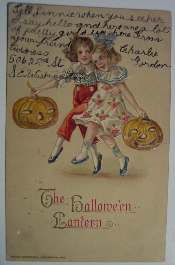 Postales Halloween retro 121