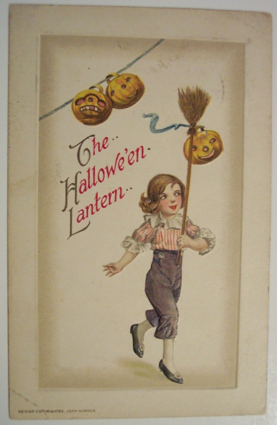 Postales Halloween retro 122
