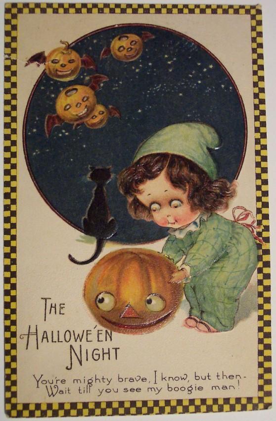 Postales Halloween retro 124