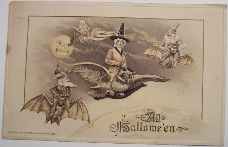 Postales Halloween retro 125