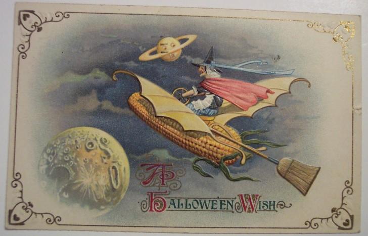 Postales Halloween retro 126