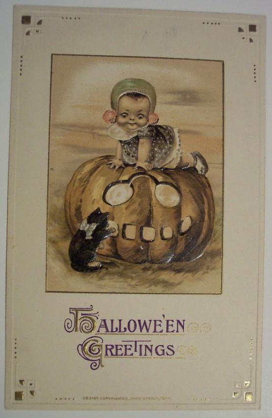 Postales Halloween retro 127